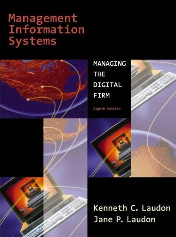 Management Information Systems (International Edition) by Kenneth C. Laudon (2003-02-01)