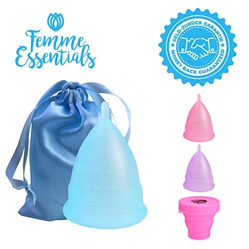 Copa Menstrual Femme Essentials|100% Silicona Hipoalergénica