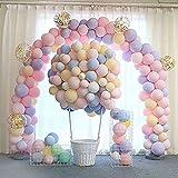 100 pcs 10 Inch Party balloons Latex balloons Birthday balloons Helium balloons for Birthday Wedding Graduation Christmas Bab