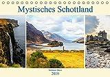 Mystisches Schottland (Tischkalender 2019 DIN A5 quer): Den Zauber der mystischen Highlands in Schottland eingefangen in