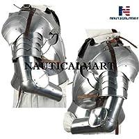 nautique Mart complet médiéval Chevalier Bras Armour–Ensemble Costume d'Halloween