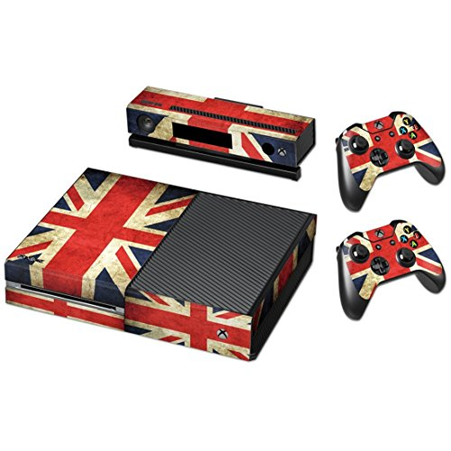Price comparison product image Flags UK Vinyl Decal Full Body Faceplates Skin Sticker For Xbox one console x 1 and controller x 2