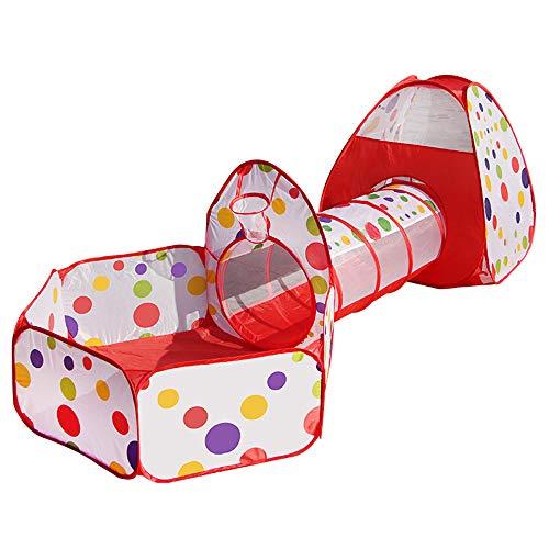 Contever Carpa para Niños 3 Partes Pop Up Tienda...