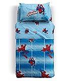 Produktbild von Tagesdecke Gesteppt Spiderman Power Marvel–Single