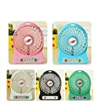 #1: Dynamo Mini Portable Usb Rechargeable 3 Speed Fan Colors May Vary