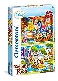 Clementoni 24742 - Puzzle Winnie the Pooh, 2 x 20 Pezzi, Multicolore