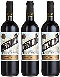 Bodega Classica Hacienda López de Haro Crianza DOCa aus Spanien/Rioja, Jahrgang 2015/2016, 3er Pack (3 x 750 ml)