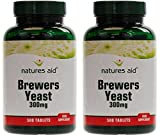 (2 Pack) - Natures Aid - Brewers Yeast 300mg | 500's | 2 PACK BUNDLE