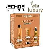 Kit Seliar Luxury Echos Line color shampoo 350ml + Máscara 300ml + Aceite 100ml