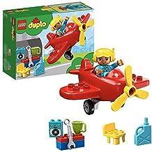 LEGO DUPLO 10805 Flughafen Flugzeug rot/weiß NEU Baukästen & Konstruktion
