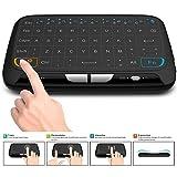 Tastiera wireless ACEMAX e Touchpad Mouse Combo, Mini tastiera da 2,4 GHz con pannello intero Touchpad Mouse remoto per Android TV Box, HTPC, IPTV, PC, laptop, PS3, Xbox 360, Smart TV e altro
