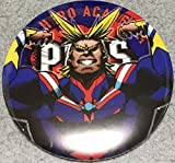 My Hero Academia original can badge All Might Hiroaka