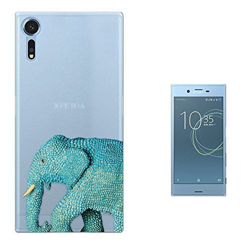 c00905-cool-wildlife-blue-indian-african-elephant-tusks-design-sony-xperia-xzs-fashion-trend-silikon