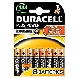 Duracell Plus AAA Akku (8Stück)
