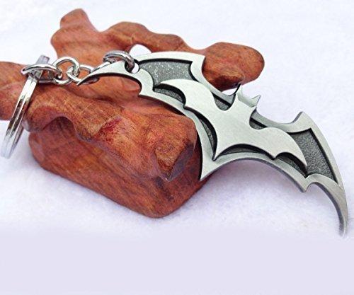 OK-STORE Batman the Dark Knight Movie Metal Brands Keychain (silver) by OK-STORE