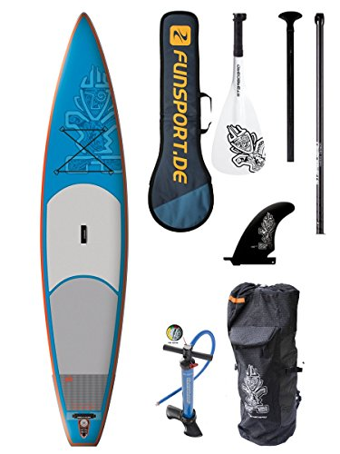 Starboard Astro Touring Zen iSUP + 3tlg. Marken Paddel + Prolimit Paddle Bag Funsport Edition - Stand Up Paddle Set
