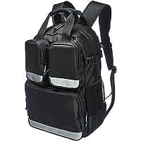 AmazonBasics Tool Bag Backpack - 23-Pocket with 3-Pocket Front