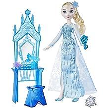 Frozen - Muñeca tocador día de la coronación de Elsa (Hasbro C0453ES0)