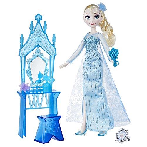 Puppen Anna Sammlung Und Elsa (Frozen c0453el2Disney Elsa und Krönung Vanity Puppe Set)