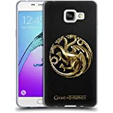 Officiel HBO Game Of Thrones Or Targaryen Symboles Étui Coque en Gel molle pour Samsung Galaxy A5 (2016)