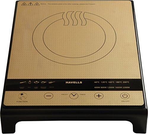 Havells Insta-auto Cook 2200-watt Induction Cooktop