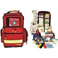 Erste Hilfe Notfallrucksack für Schulen und Kindergärten - Nylonmaterial mit gelben Reflexsreifen preisvergleich bei billige-tabletten.eu