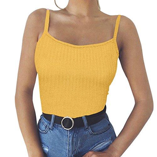 Damen Tank Top Weste Schulterfrei Bluse T Shirt Hemd Sweatshirt Oberteil Shirts