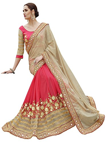 Sareeshop Georgette Saree With Blouse Piece (S2418_Multi_Free Size)