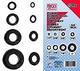 BGS 8112 Sortiment Gummi-Durchgangstüllen 180 teiliges Set