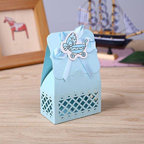 d Geburtstag nette Plastik Milchflasche Feeder Süßigkeit-Kasten-Behälter-Speicher-Geschenk (Baby Dusche Süßigkeiten Formen)