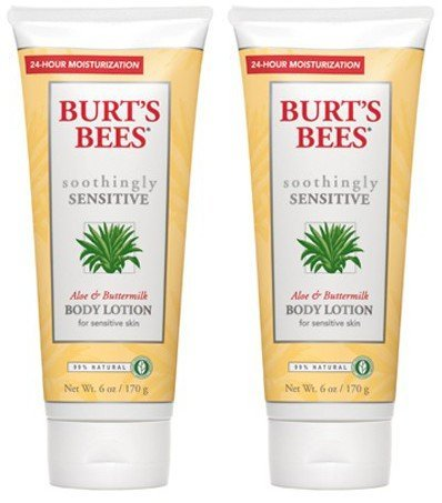 - Burts Bees - Body Lotion Aloe & Buttermilk | 6 fl oz | BUNDLE by Burt's Bees