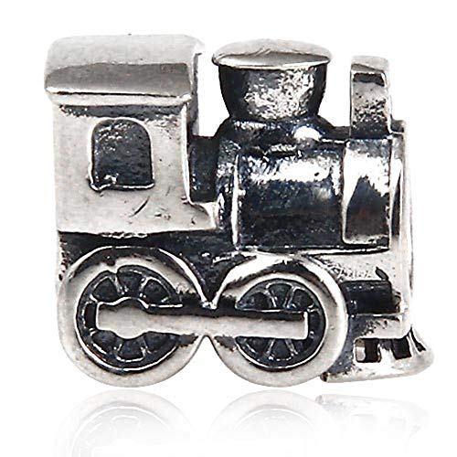 925sterling silver train charm sport fascino ciondolo bus nave fascino anniversary charm per braccialetti pandora