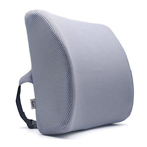 Valuetom cuscino lombare memory foam sostegno lombare cuscini, sostegno ergonomico per la schiena, per la casa, ufficio, auto