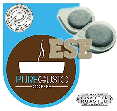 PureGusto - Continental Intenso ESE Coffee Pods (100) - FREE DELIVERY