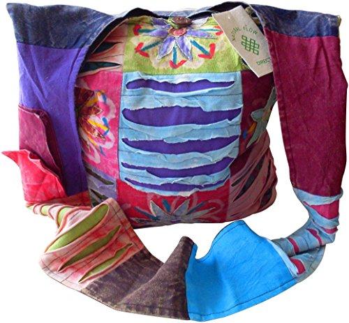 Fair Trade Patchwork Travel Bag