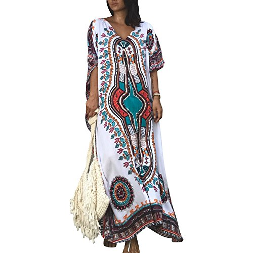 Jby signore abiti da spiaggia stile turco boho spiaggia poncho allentato maxi kimono kaftan tunica lunghi abiti estivi camicia oversize beach dress vestito da festa