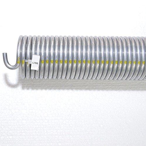 Preisvergleich Produktbild 1 Stück Torsionsfeder L705 / L25 für Hörmann Garagentor Garagentorfeder Torfeder