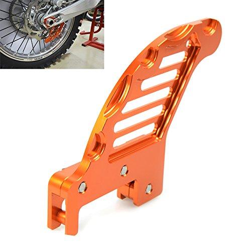Motorrad Bremsscheibenschutz Rear Brake Discs Guard Protector Für KTM XCW 200 250 300 450 XCF 250 300 450 505 XCFW 250 300 MXC 150 300 450 EXCR 250 450 XCRW 450 (Orange) -