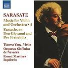 Sarasate: Music For Violin & Orchestra Vol 4 [Ernest Martínez Izquierdo, Tianwa Yang] [Naxos: 8572276]