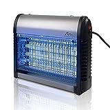 Gardigo 62400 - Destructeur d'insectes volants; Désinsectiseur lampe UV Ultraviolet anti-insects, moustiques; Bac collecteur, chaîne de suspension