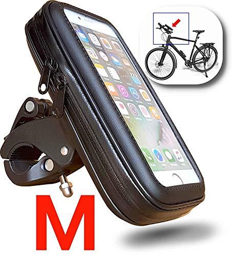 FT-18M Handyhalterung Lenkertasche für Fahrrad Motorrad Ramentasche Smartphone Halterung wasserdichte Schutzhülle bis 5,0
