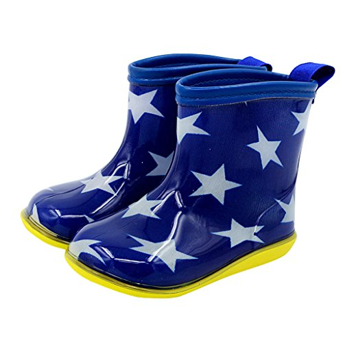 Vine Babys Wellies Children Rain Boots Waterproof Shoes for Boys Girls, 1-6 Years