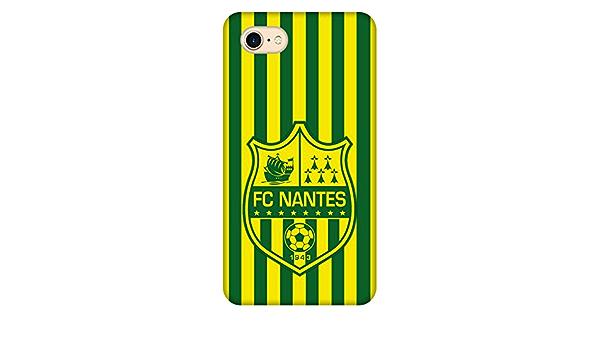 Coque Iphone 7 ou Iphone 8 - Supporter Football FC-Nantes: Amazon ...