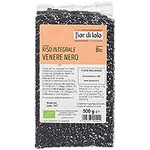 Fior Di Loto Arroz Integral Venere Negro - 3 Paquetes de 500 gr - Total: