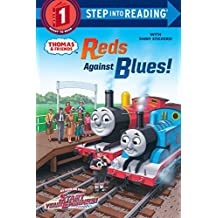 Reds Against Blues! (Thomas & Friends) (Thomas & Friends: Step into Reading, Step 1)