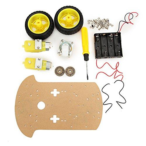 Roboter-Auto-Chassis-Ausrüstungs-Drahtlose Steuerung Für Arduino-Karton-Verpackung ()