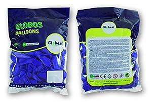 Globest- Globos de látex decoración, Color violeta (Festival 50277)