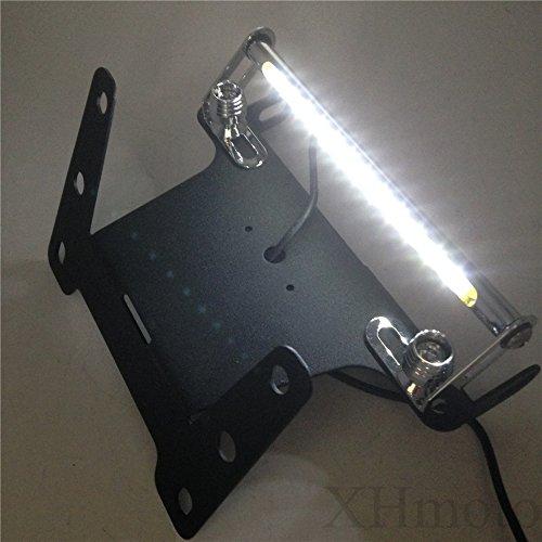 HTT schwarz LED-Licht Fender Eliminator Schwanz ohne Logo für 2004–2006Kawasaki Ninja ZX10R ZX-10R