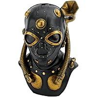 Design Toscano - CL6072, Statua decorativa, motivo: Maschera anti-gas Steampunk Apocalypse