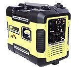 Bison Generador electrico Inverter Gasolina 2000W 220V x 2 Pinzas Cargador baterias DC